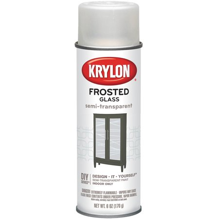 Krylon Frosted Glass Finish Aerosol Spray 6oz - Frosted Glass Spray
