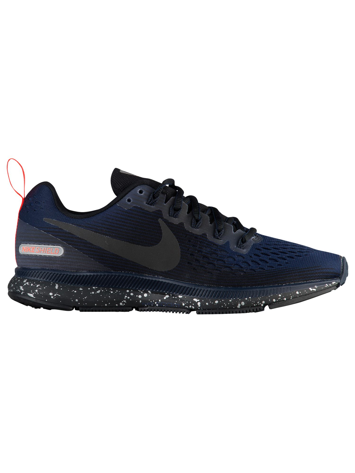 newest cad8e 1faf6 Nike Air Zoom Pegasus 34 Shield - Women's - Running - Shoes -  Black/Black/Black/Obsidian
