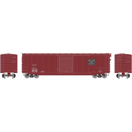 Athearn N Scale 50ft PS-1 Single Door Box Car Western Pacific/WP #36011