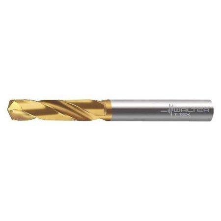 WALTER TITEX A1164TIN-1.6 Jobber Drill, Carbide, 140 Deg, TIN Grade
