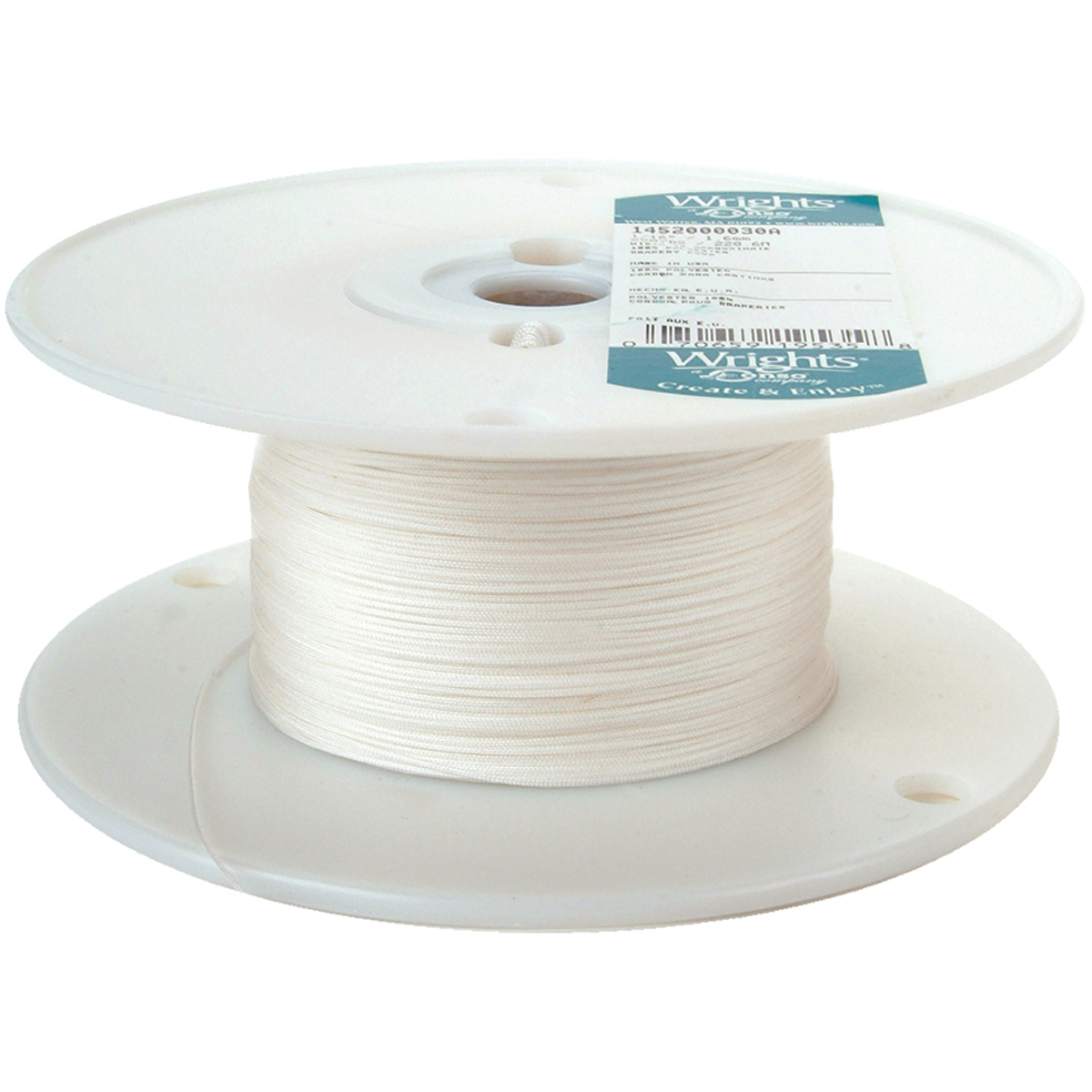 "Wrights Poly Drapery Cord, 1/16"" x 250 yds"