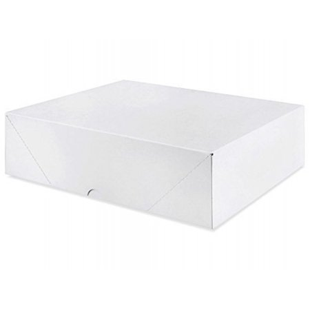 White Packing (White Letterhead Folding Boxes - 25 Per Pack (8 1/2 x 11 x 4