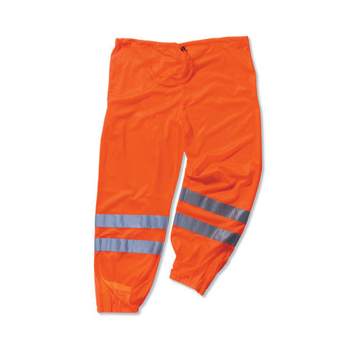 ERGODYNE 22853 GLOWEAR  8910 CLASS E PANTS ORANGE S/M