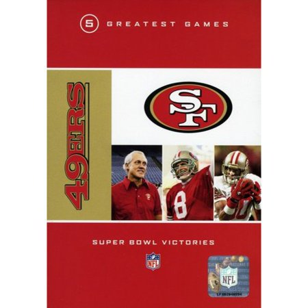 Nfl  San Francisco 49Ers   5 Greatest Games  Super Bowl Victories