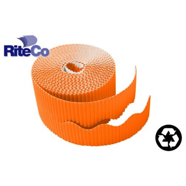 RiteCo Raydiant Riteco Trim-It Corrugated Scalloped Decorative Border.  Two Strip