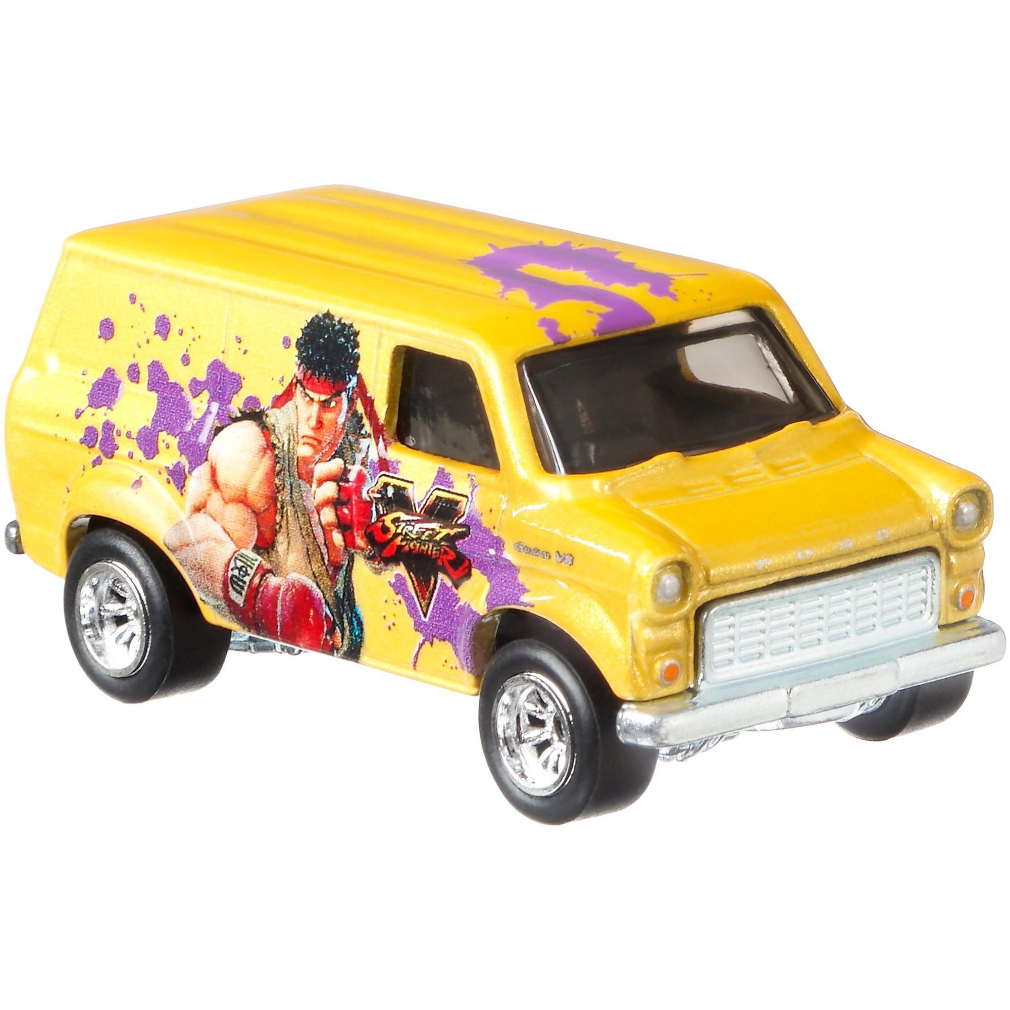 Hot Wheels Premium 1:64 Scale Die-cast Ford Transit Super Van