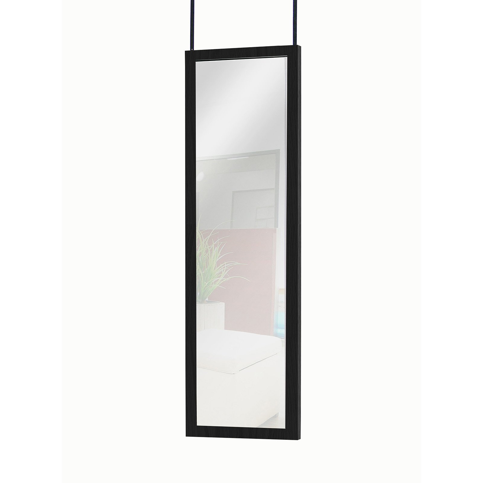 Over The Door Mirrors Mainstays Over The Door Mirror Walmartcom
