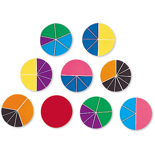 Learning Resources Deluxe Rainbow Fraction Circle