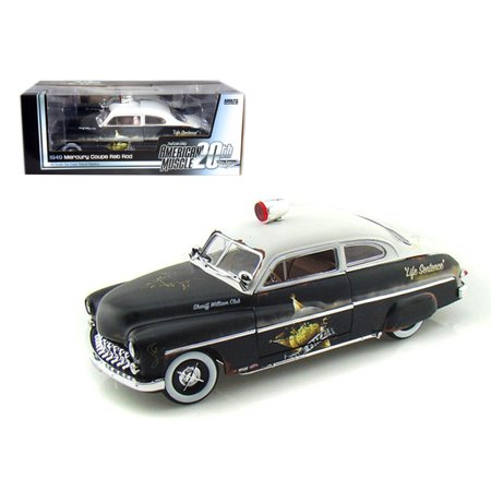 1949 Mercury Coupe Rat Rod Police 20th Anniversary of American Muscle Edition Limited Edition 1 of 700 Produced Worldwide 1/18 Diecast Model Car by