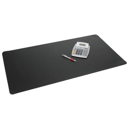 Artistic Rhinolin II Desk Pad with Microban, 24 x 17, Black -AOPLT412MS
