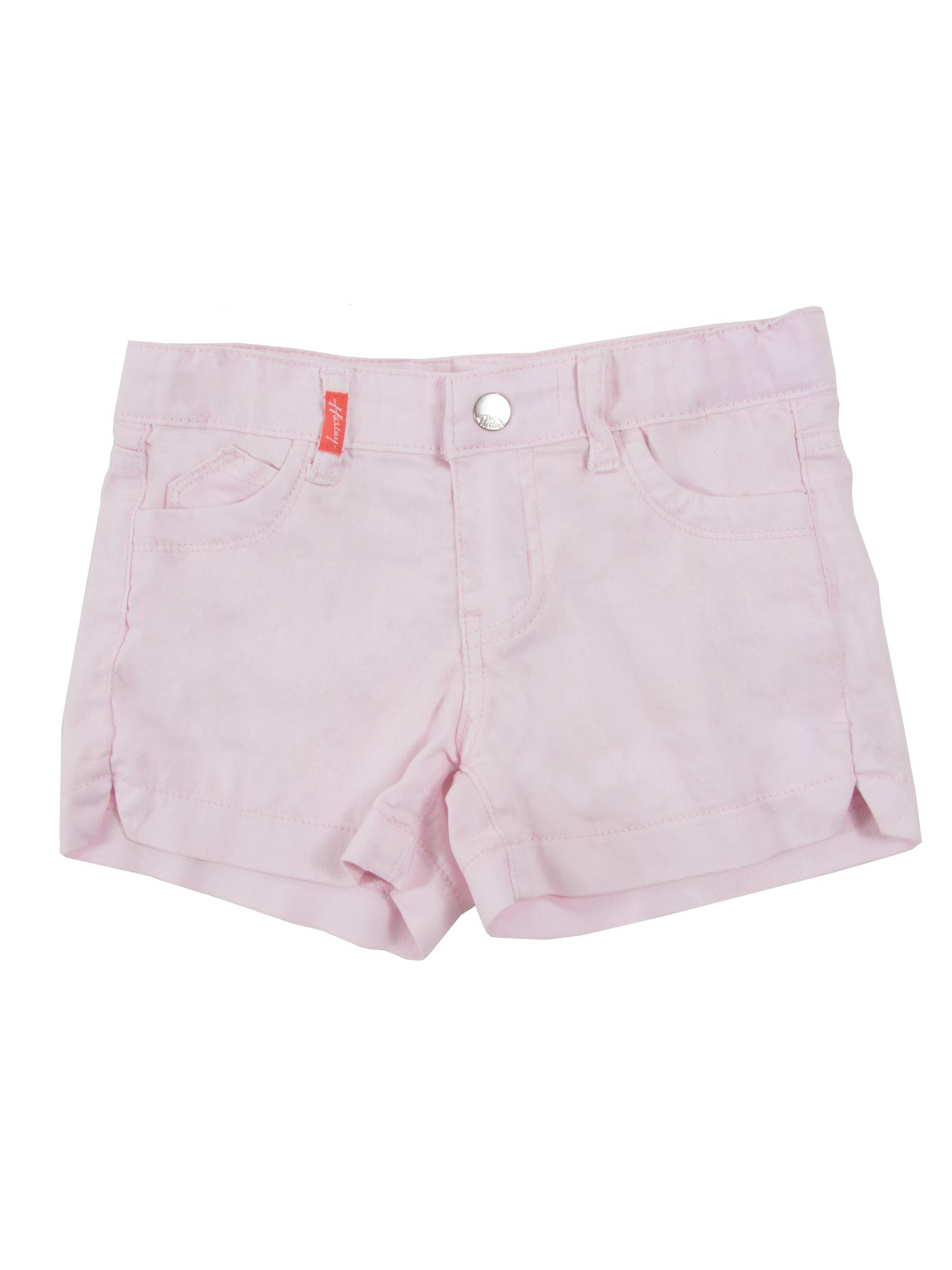 9H049(SH) - Girls Stretch 5 Pockets, Color Premium Denim Shorts