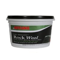 Rutland 587 Bright Rock Wool for Gas Log, Replace the aging rock wool in your gas fireplace or spruce up a new project By Rutland Products