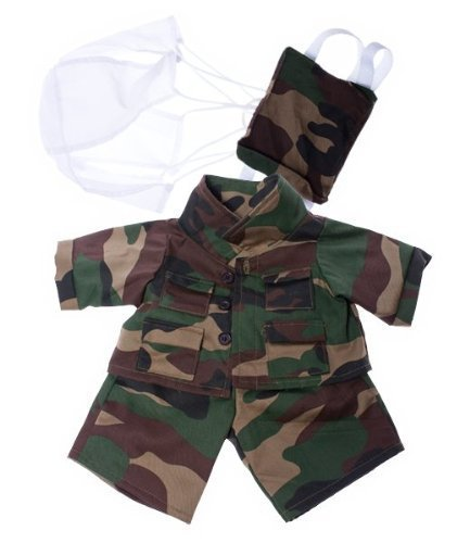 "Special Forces outfit Teddy Bear Clothes Fits Most 14"" 18"" Build-A-Bear, Vermont... by Teddy Mountain"