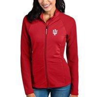 Indiana Hoosiers Antigua Women's Sonar Full-Zip Jacket - Crimson