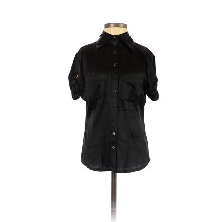 Pre-Owned Bebe Women's Size XS Short Sleeve Silk Top
