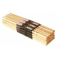 On-Stage HN5B Hickory Drum Sticks (5B, Nylon Tip, 12pr)