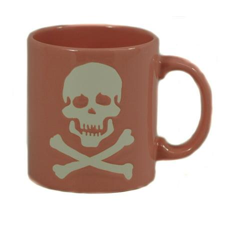 Waechtersbach Konitz Porcelain Mug - Pink Skull