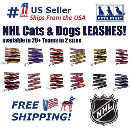 Pets First NHL Nashville Predators Leash! Licensed, Heavy-duty, Strong, Durable Leash for Dogs, - Predators Nashville