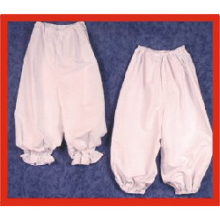 Bloomers with Self Ruffle - Ruffle Bloomers For Adults
