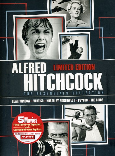 Click here to buy Alfred Hitchcock: The Essentials Collection by UNIVERSAL HOME ENTERTAINMENT.