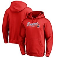 aadcb5f1 Product Image Atlanta Braves Fanatics Branded Team Wordmark Pullover Hoodie  - Red