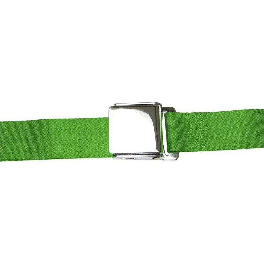 3 Point Retractable Airplane Buckle Green Seat Belt (1 Belt) apu parts