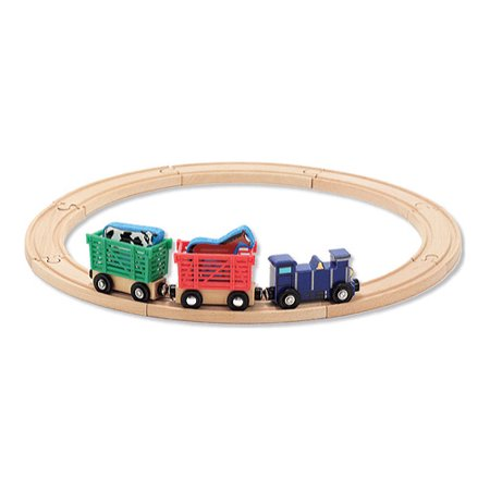 Children's Melissa & Doug Farm Animal Train Set (Melissa And Doug Stacking Train)