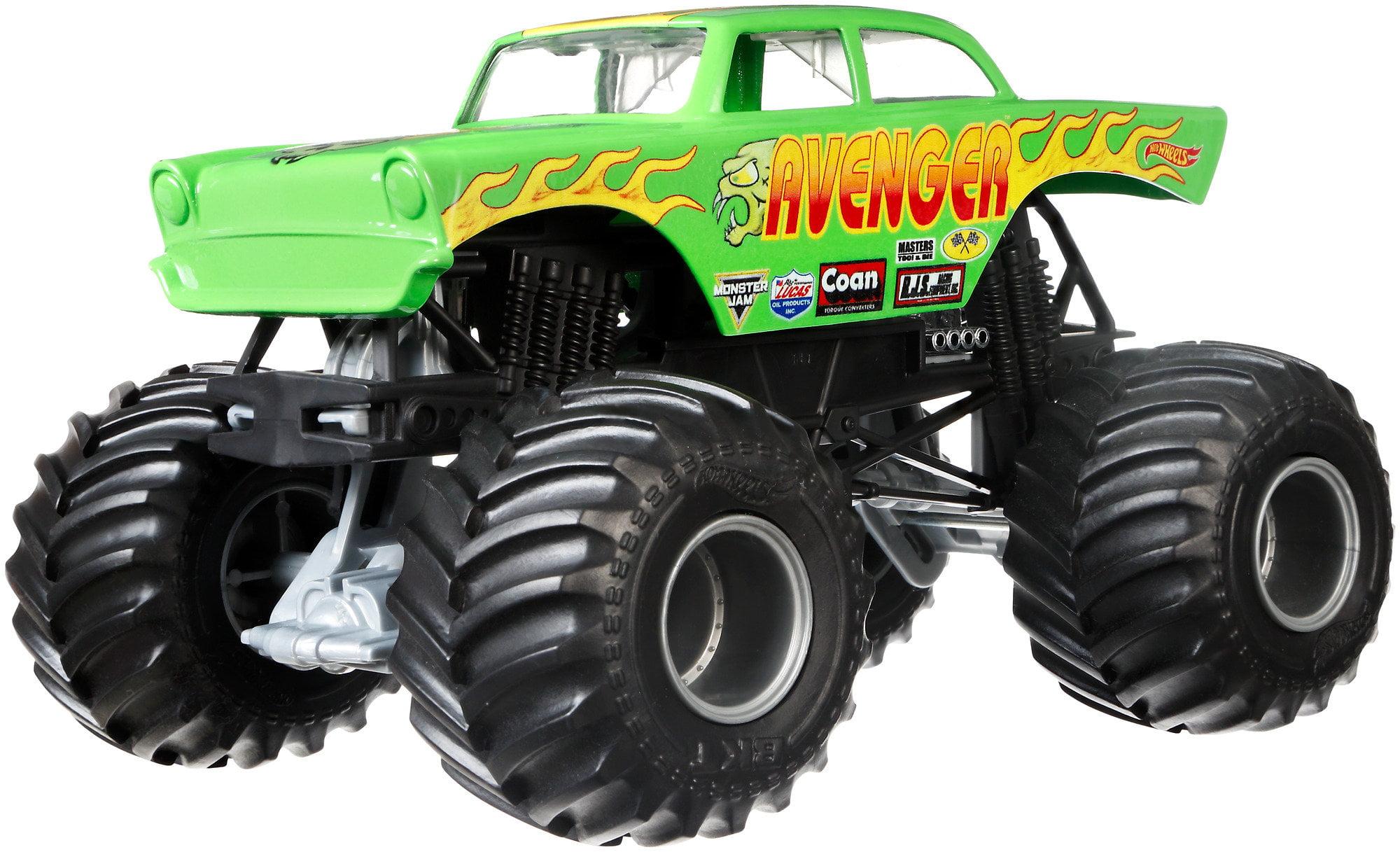 Hot Wheels Monster Jam Avenger Vehicle by Mattel