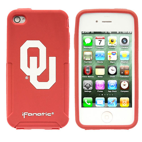 NCAA - Oklahoma Sooners iPhone 4/4S Mascot Silicone Case