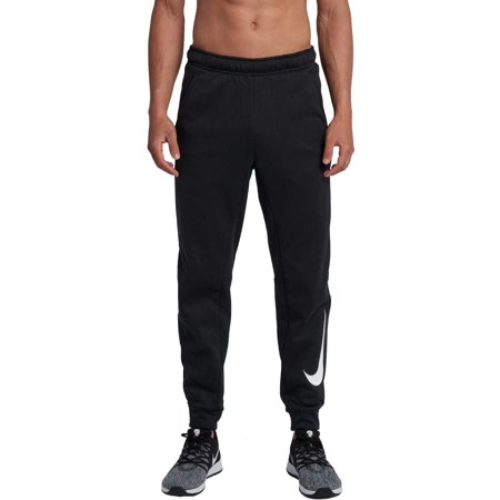 Nike Men's Therma Tapered Pants, Black/White, X-Large