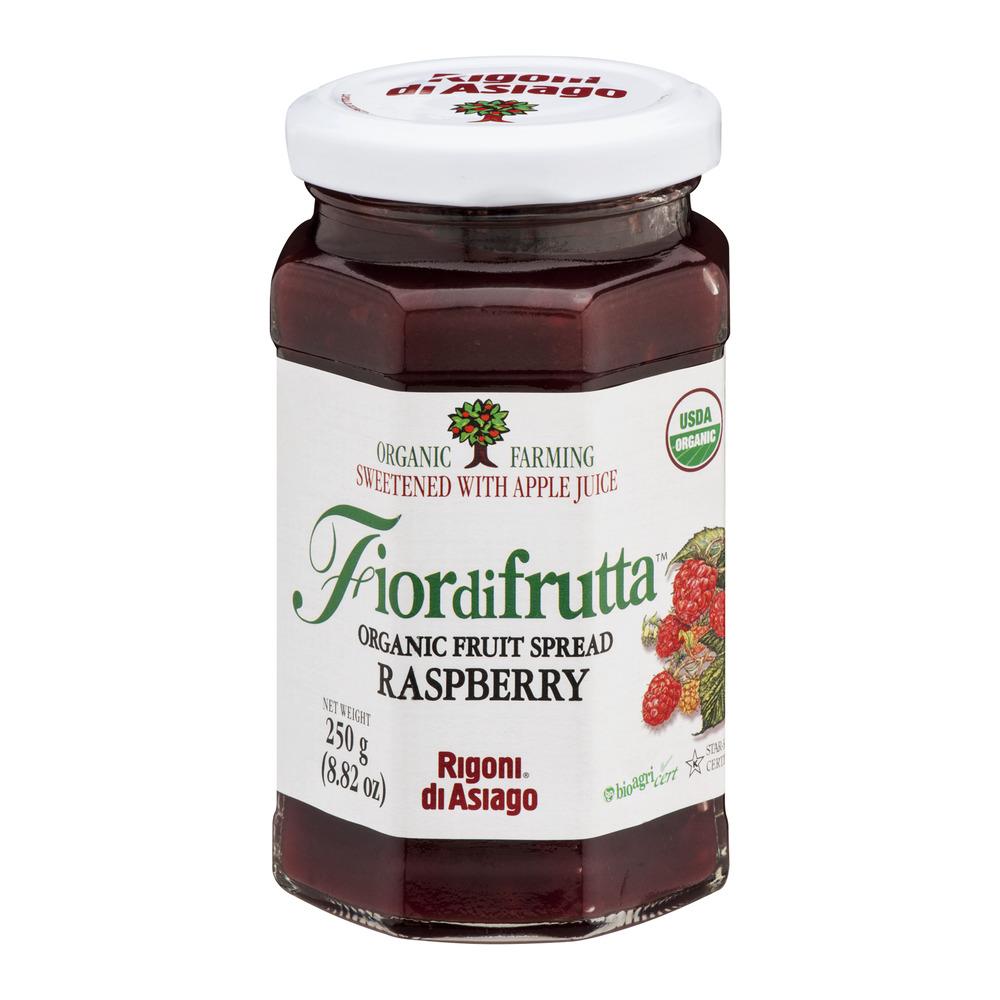 Fiordifrutta Organic Fruit Spread Raspberry, 8.82 OZ