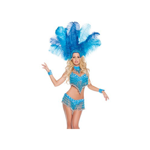 Starline Sexy Carnival Girl Costume S1007 Blue