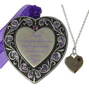 Faith Ornament and Necklace Set