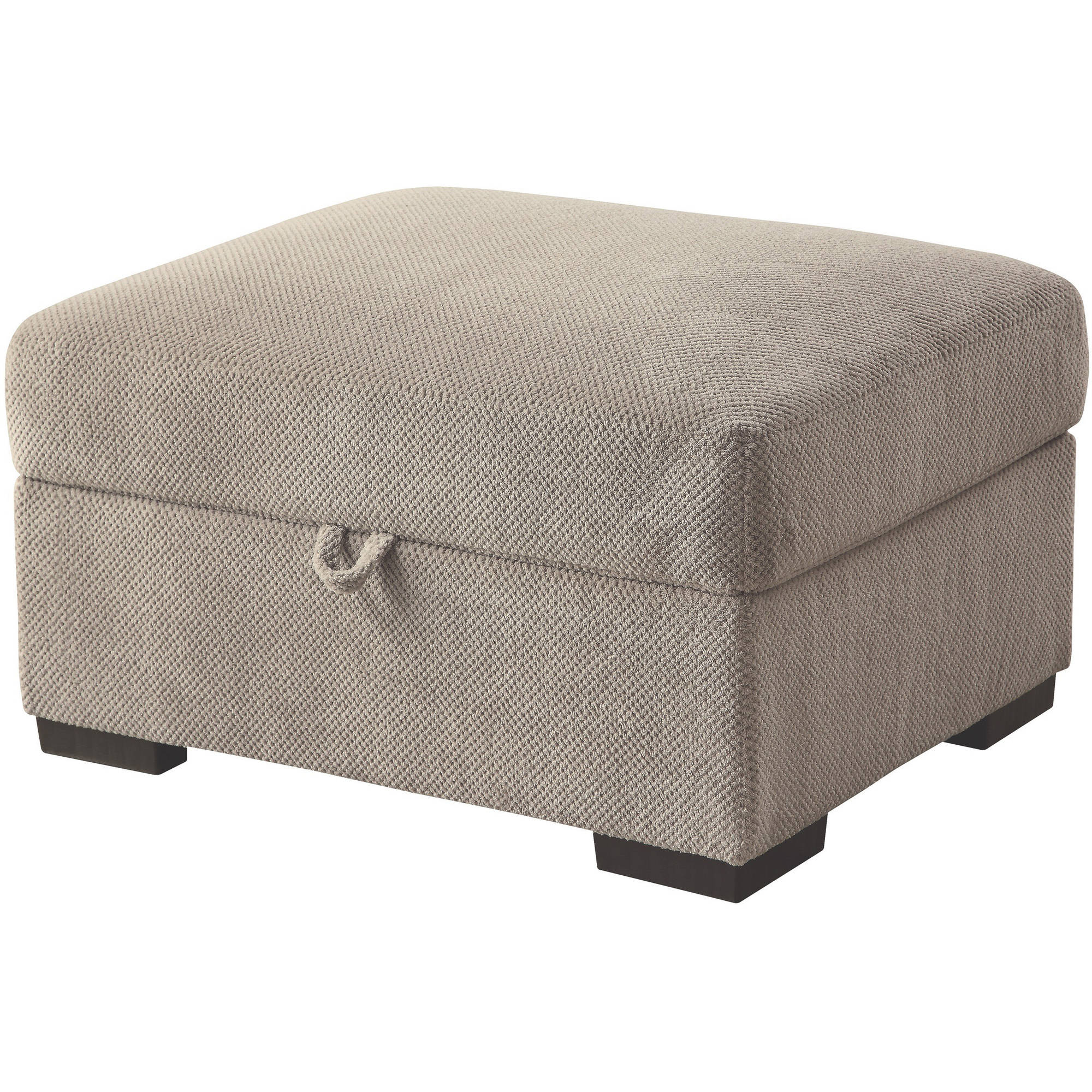 Coaster Olson Fabric Ottoman in Taupe