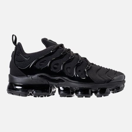 a5d555ca2ba Nike - Mens Nike Air Vapormax Plus Triple Black Dark Grey 924453-004 -  Walmart.com