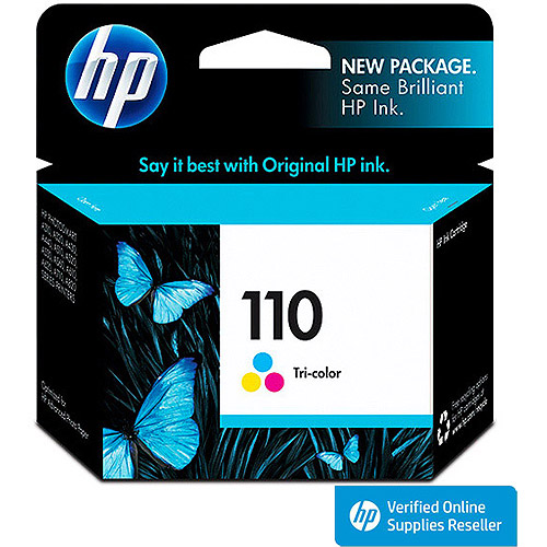 HP 110 Tri-color Inkjet Cartridge (CB304AN)