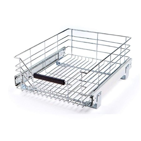 Sliding Rack Drawer (Pull-Out Sliding Steel Wire Cabinet Drawer, 17.75