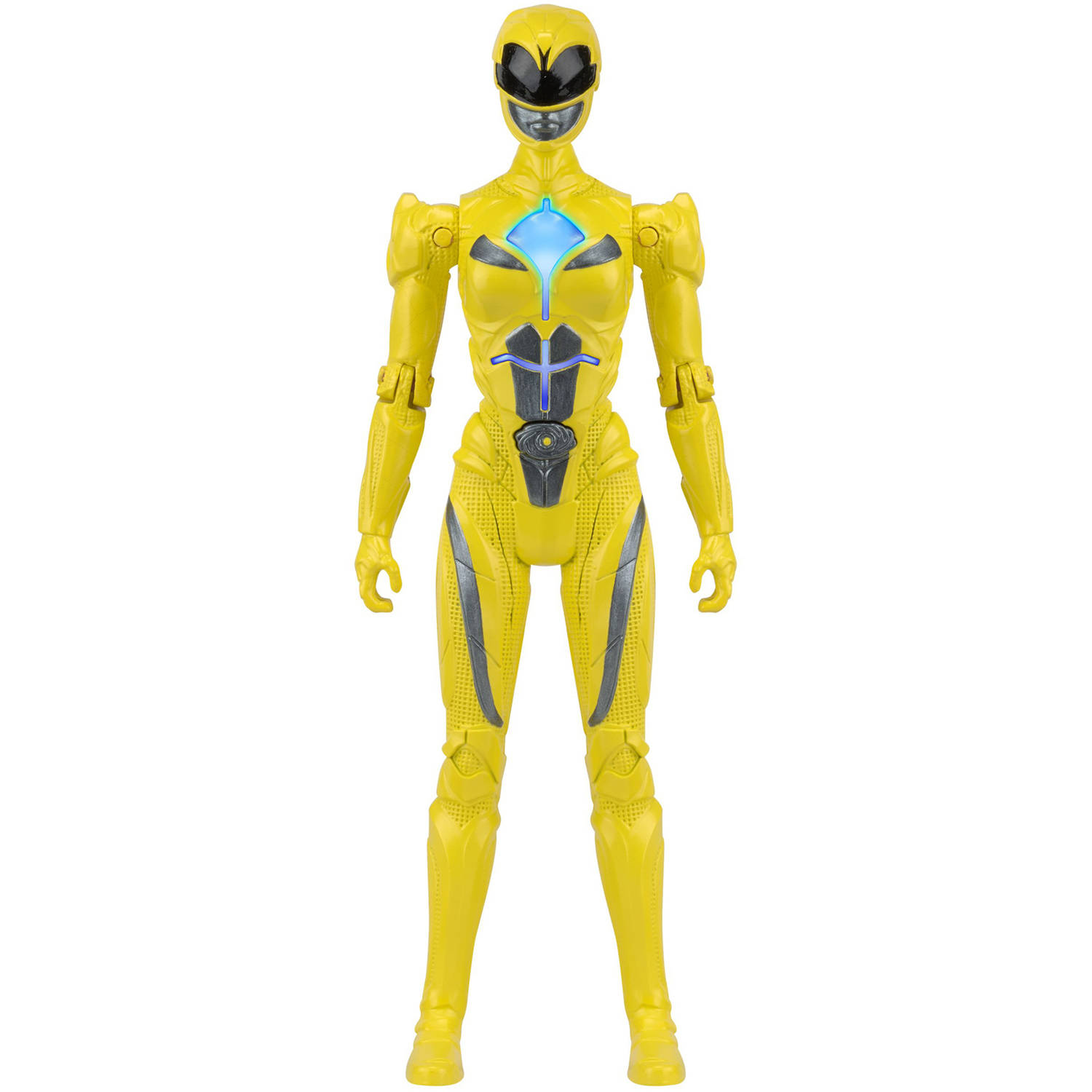 Power Rangers Movie Morphin Power, Yellow Ranger Figure by Bandai