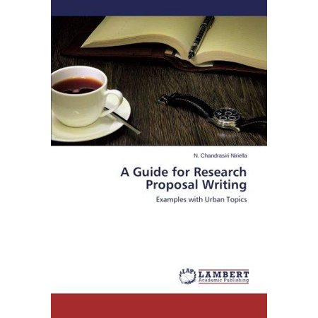 A Guide for Research Proposal Writing - image 1 de 1