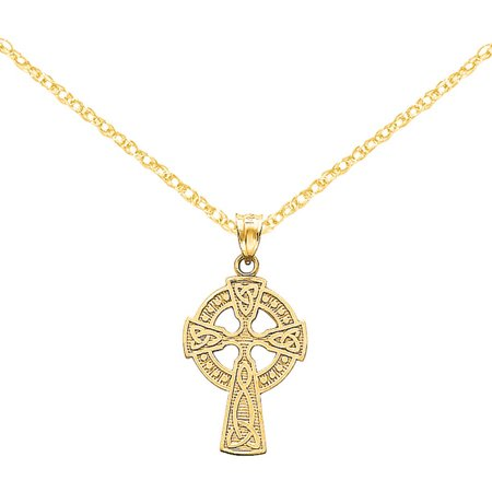 14kt Gold Celtic Cross Pendant ()