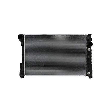 Radiator - Pacific Best Inc For/Fit 13162 08-14 Mercedes-Benz C-Class (exclude C63) 10-15 E-Classs Coupe 3.5L 10-15 GLK w/Heater Hose w/o