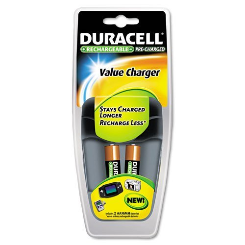 Duracell Value Charger w/ AA Batteries