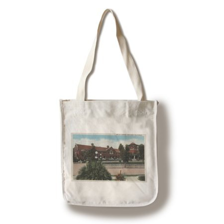 Redlands, CA - View of Smiley Library (100% Cotton Tote Bag - Reusable)](Party City Redlands Ca)
