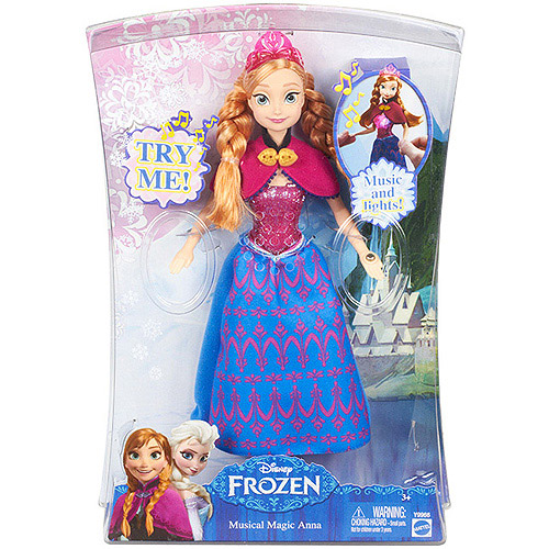Disney Frozen Musical Magic Anna Princess Collection Doll