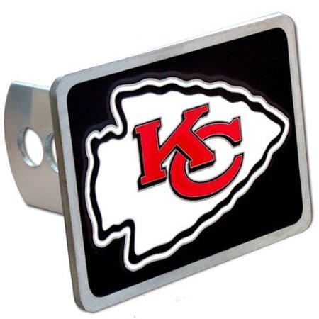 Kansas City Chiefs Large Zinc Trailer Hitch Cover   Nfl Football Fan Shop Sports Team Merchandise By Siskiyou Gifts