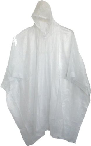 "Boss Rainwear 61 80"" Clear Side Snap Vinyl Poncho, By Boss Manufacturing Company by"