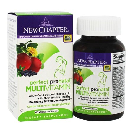 New Chapter - Parfait prénatale multivitamines - 48 Vegetarian Tablets