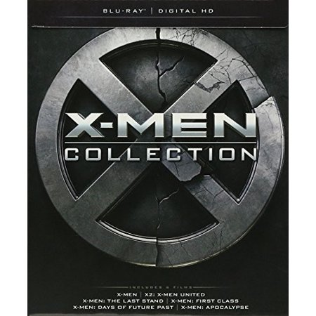 X-men Collection (Blu-ray) (With INSTAWATCH) (Xmen The Wolverine Blu Ray)