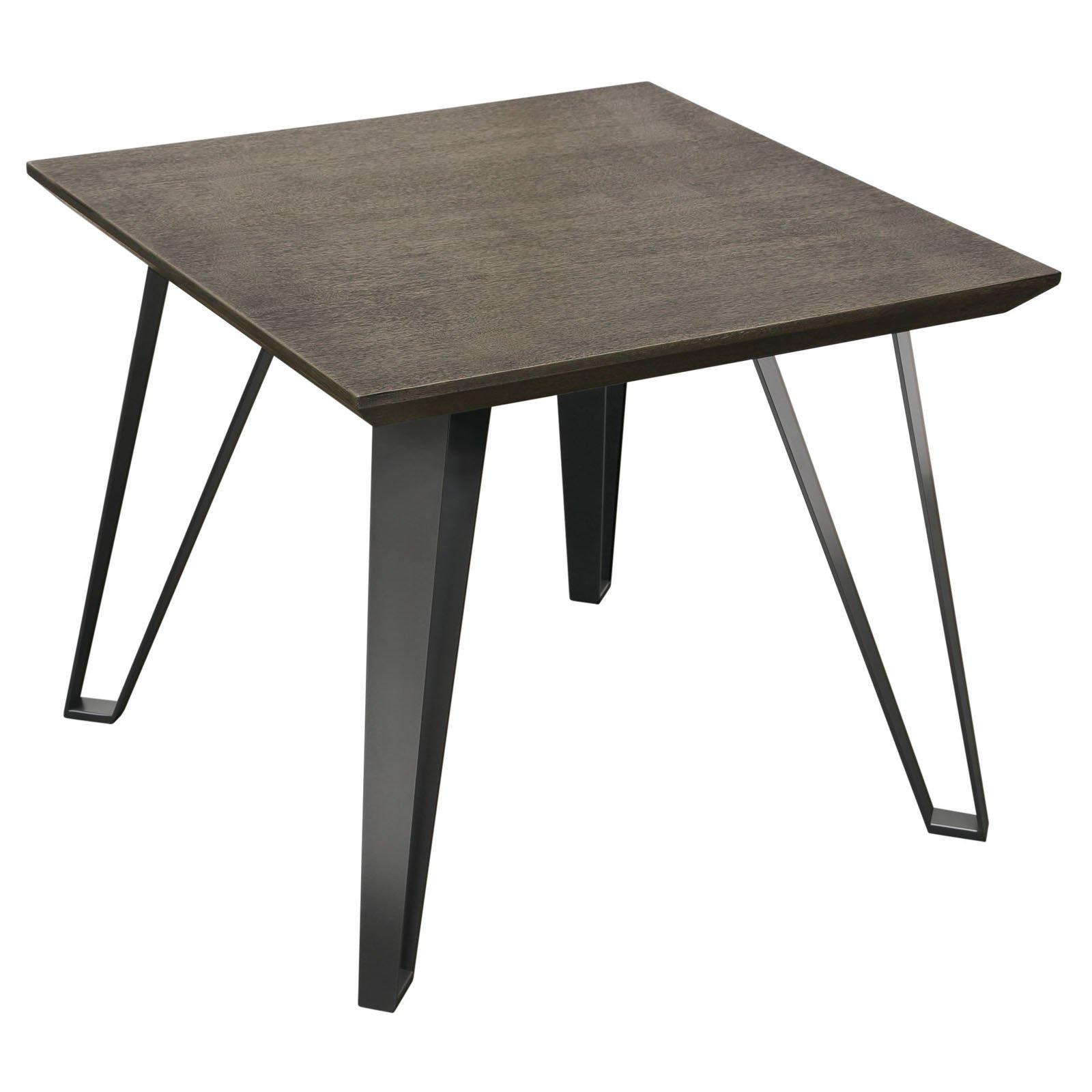 Diamond Sofa Sigma Square End Table - Chestnut