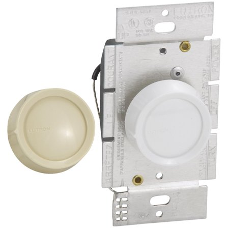 Lutron Universal Single-Pole Rotary Dimmer Switch